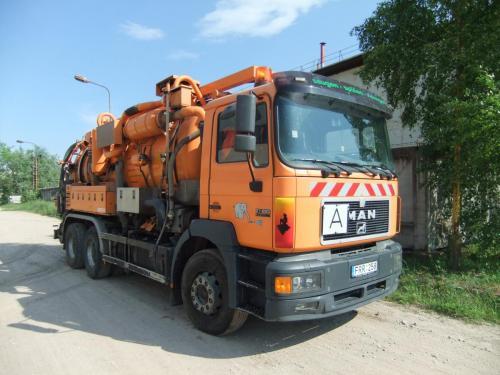 Sergejaus, hidrodinaminė vamzdynų plovimui